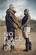 Omslag 'No Place For Us', verzameling korte verhalen, Good Mourning Publishing